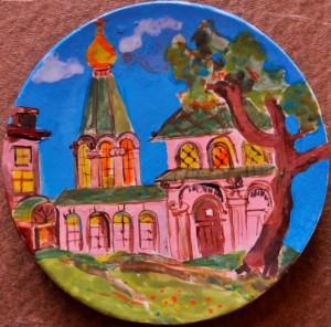 Храм Твой, Господи... (Кописки Марфа, 9 лет)
