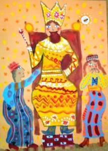 Царь Салтан (Шелаева Василиса, 6лет)