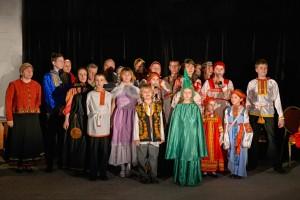Сны в Рождественскую ночь театр.студ. Божья коровка2