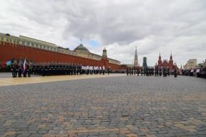 Построение на Красной площади